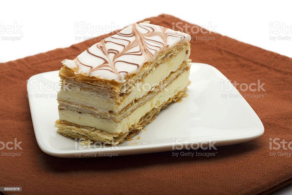 Napoleon Pastry royalty-free stock photo