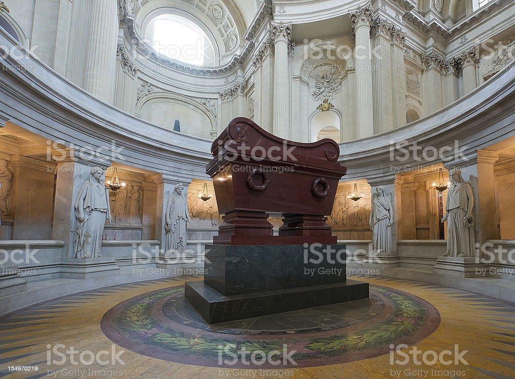 Napoleon tomb stock photo