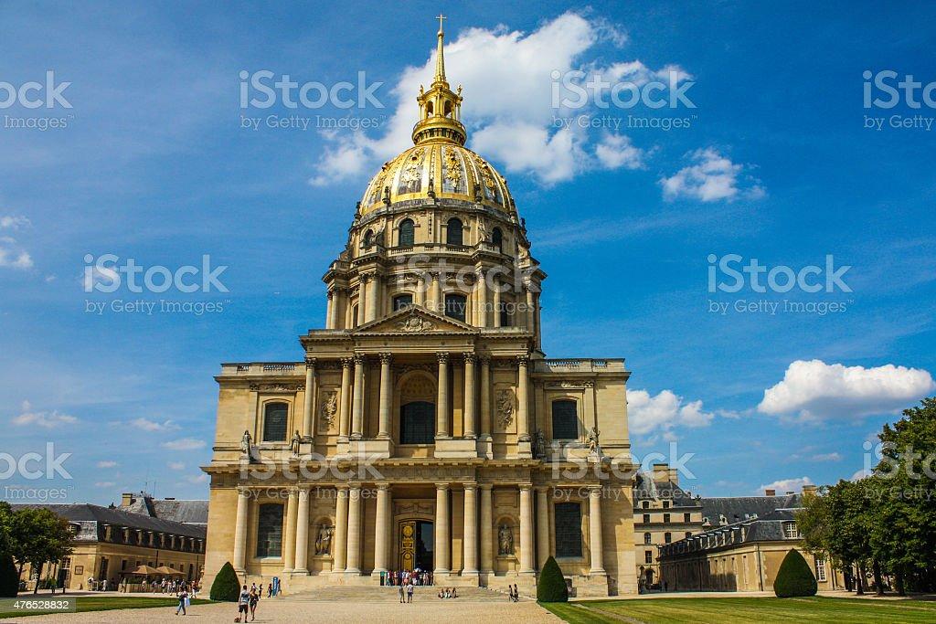 Napoleon's Tomb, Paris France stock photo