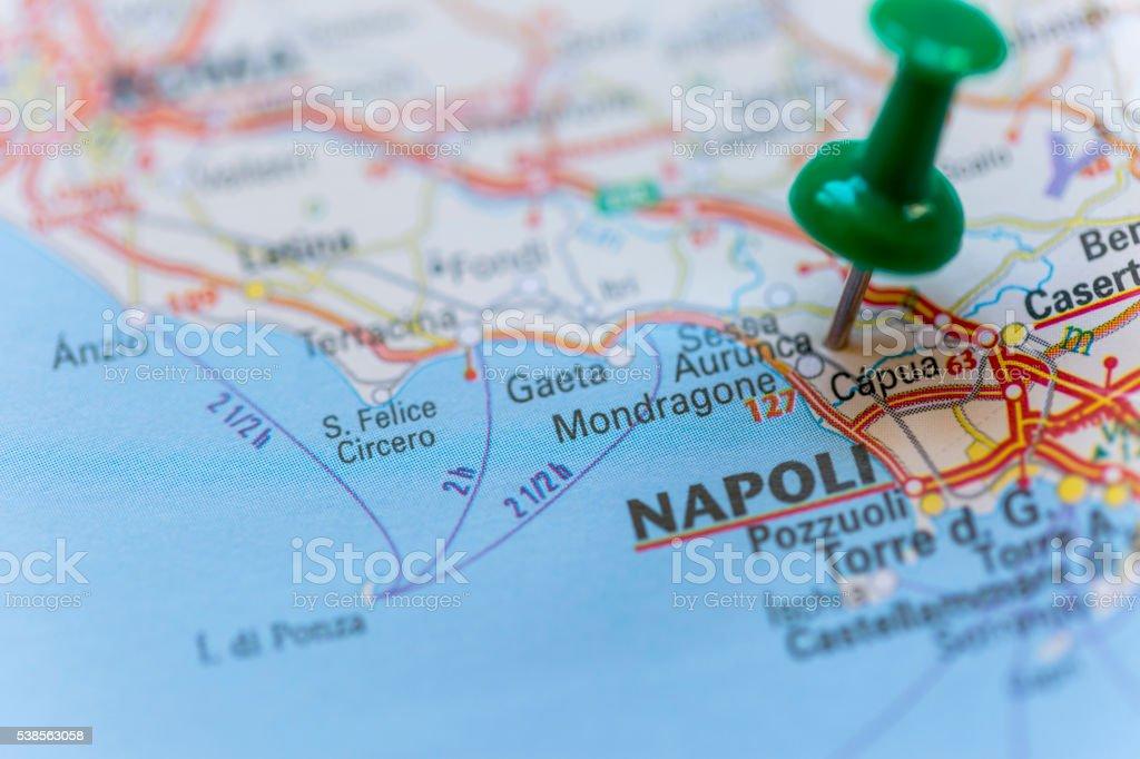 La Cartina Di Napoli.Mappa Di Napoli Fotografie Stock E Altre Immagini Di Accuratezza Istock