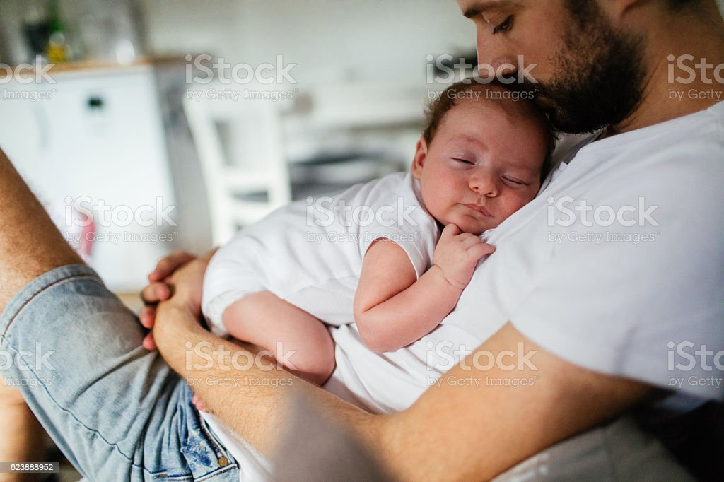 Napping time stock photo