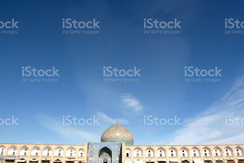 Naqsh-e Jahan/Imam/Shah Square, Isfahan, Iran stock photo