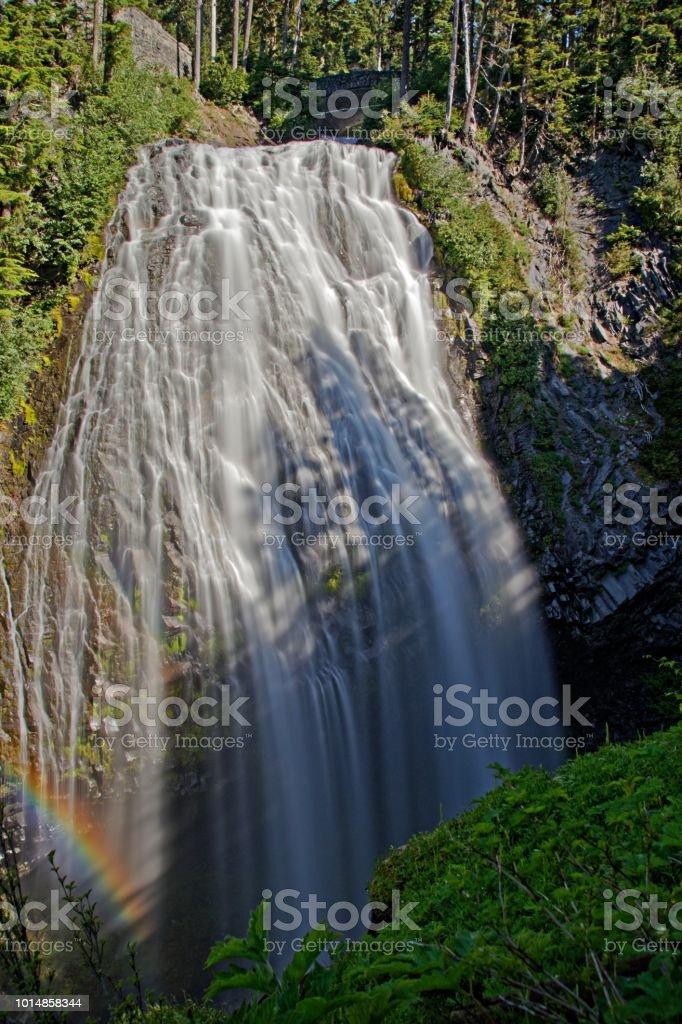 Narada Falls im Nationalpark Mount Rainier - fotografia de stock