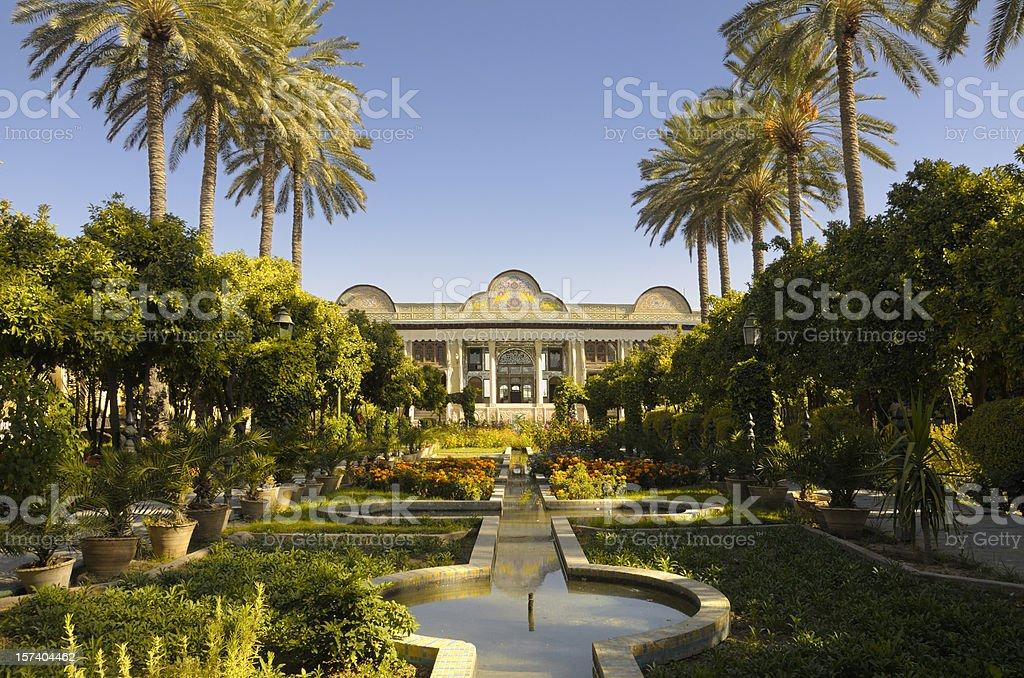 Narenjestan Palace, Shiraz, Iran stock photo