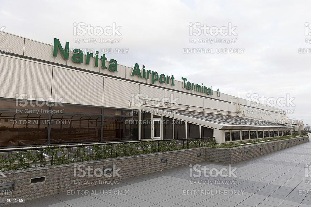 Narita Airport in Japan royalty-free stock photo