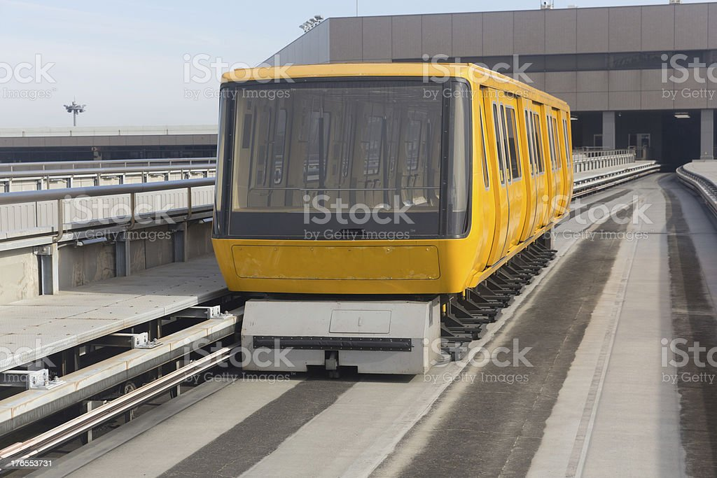 Narita Airport Shuttle System in Japan royalty-free stock photo