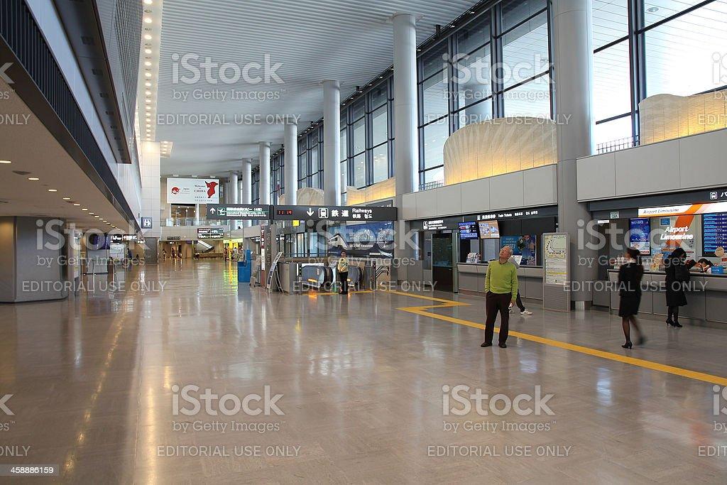 Narita Airport, Tokyo royalty-free stock photo