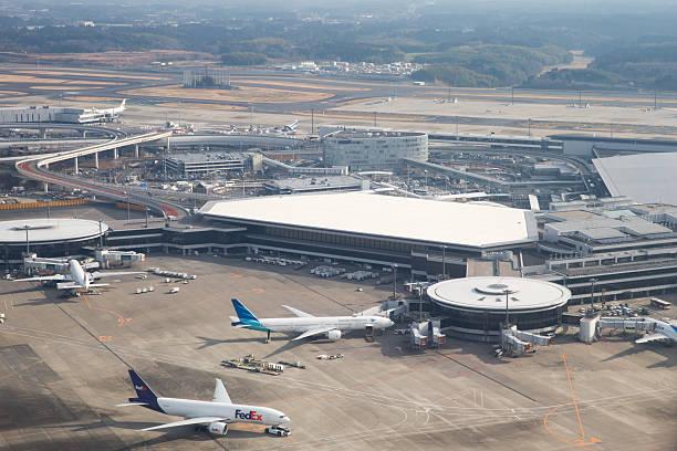 成田国際空港(日本 - 空港 ストックフォトと画像