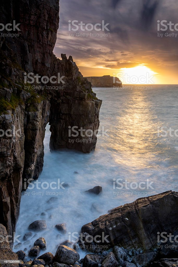 Narrow Arch stock photo