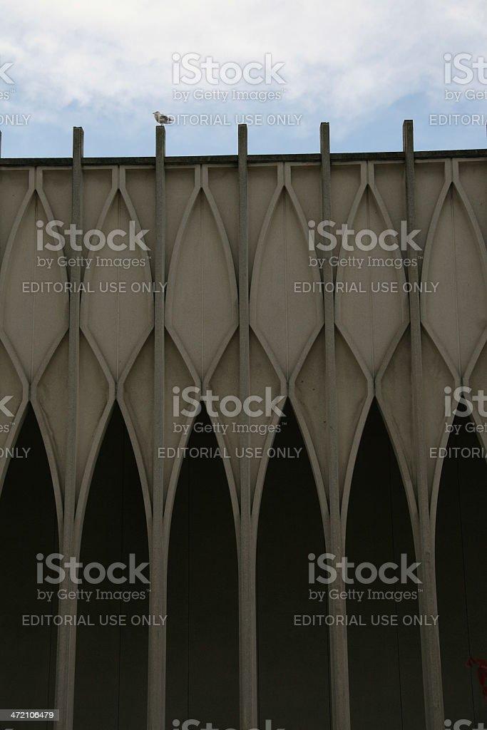 Narrow Arches royalty-free stock photo