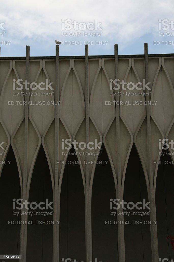Narrow Arches stock photo