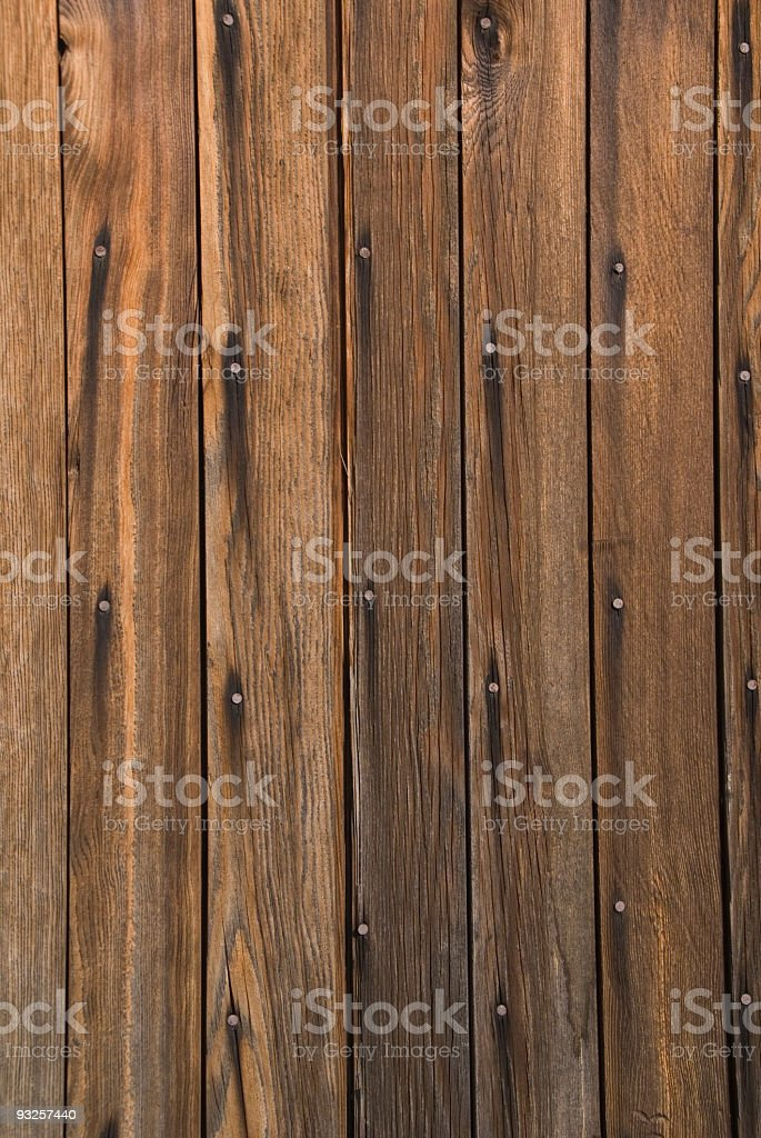 Narrow board Barnwood royalty-free stock photo