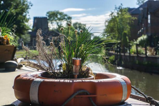 Schmale Boot Urlaub im sonnigen lancashire – Foto