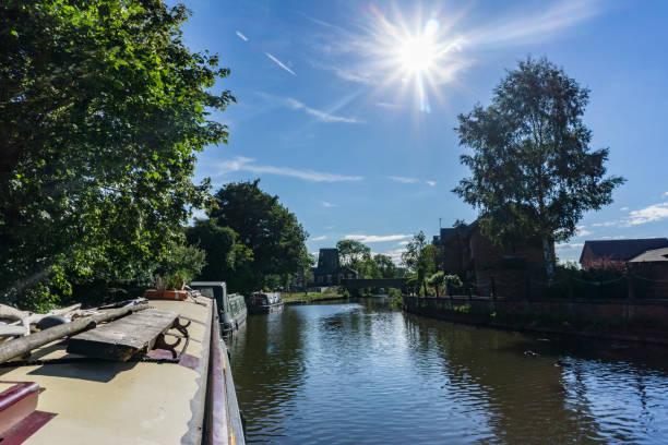 Schmale Boot Urlaub am Lancashire-Kanal – Foto