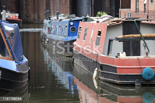 Some people actually live on the barges and occasionally offer canal tours. These at Bridgewater canal in Manchester, certainly.