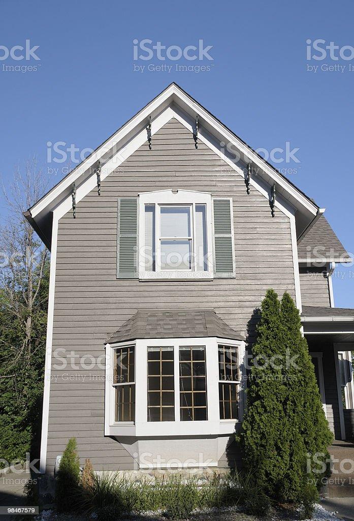 Stretta House foto stock royalty-free