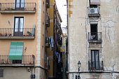 Gothic quarters are the center of Barcelona and some of its buildings date from Medieval times
