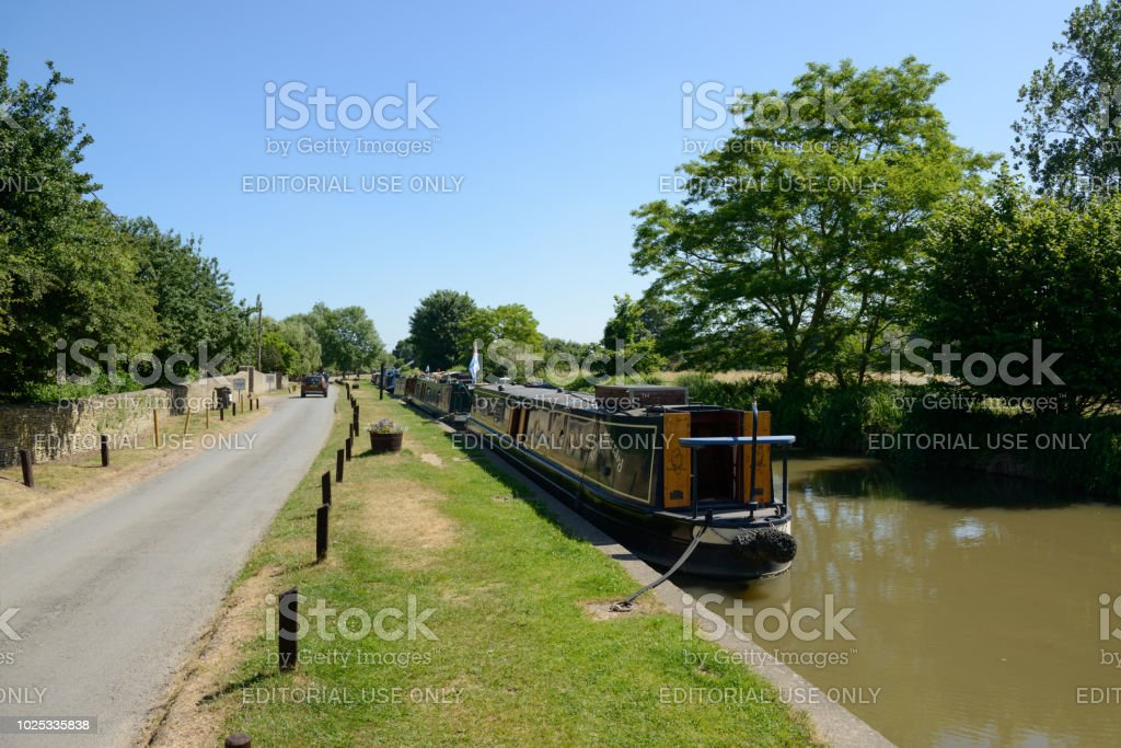 Narrowboats in Oxfordshire – Foto