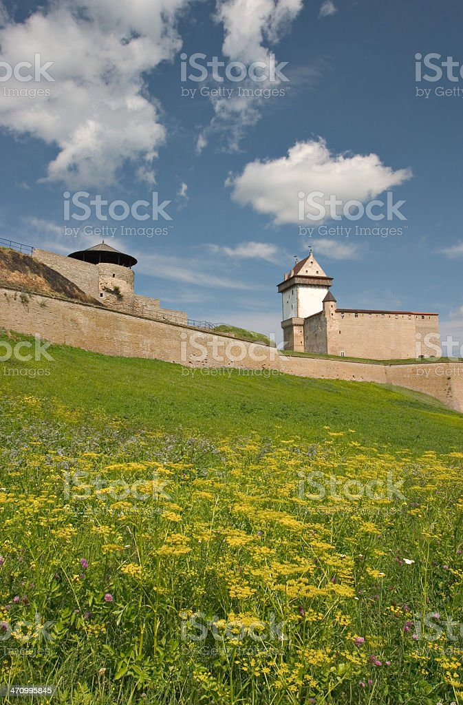 Narva castle royalty-free stock photo