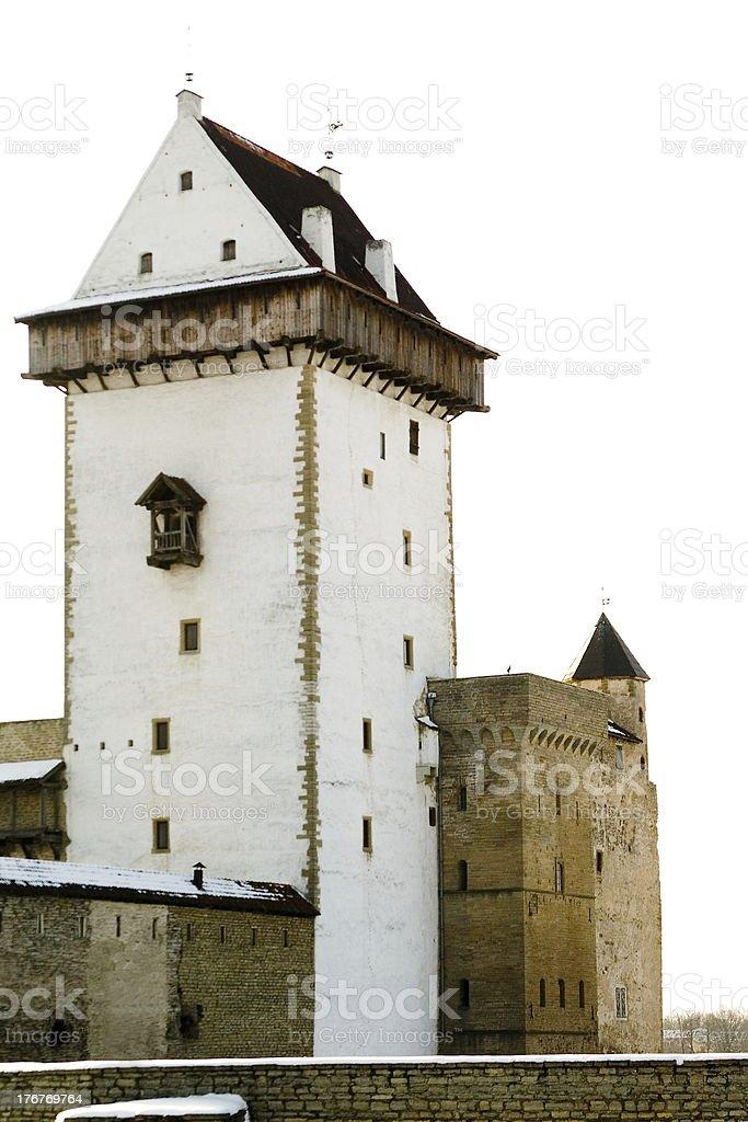 Narva Herman castle. royalty-free stock photo