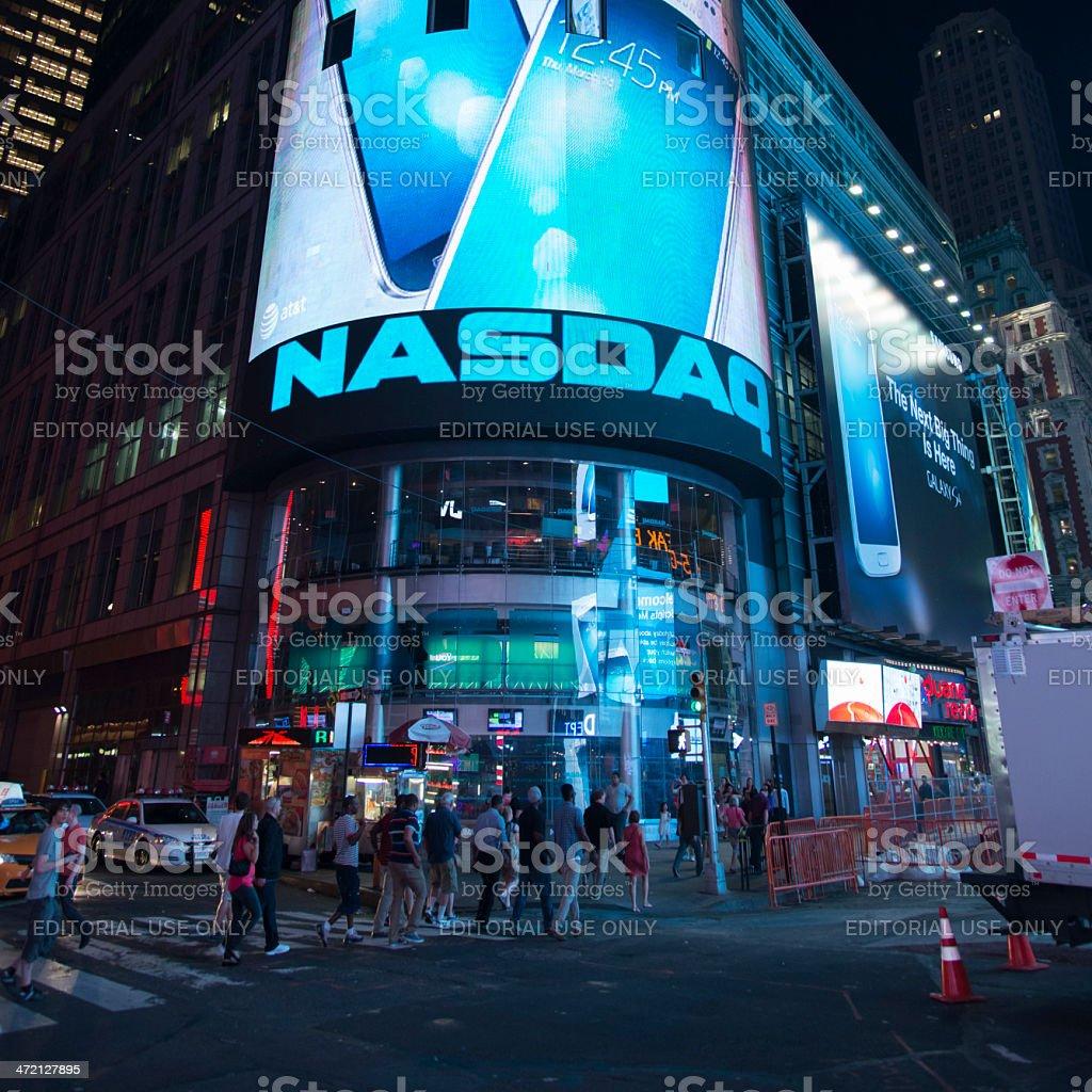 Nasdaq Stock Exchange stock photo