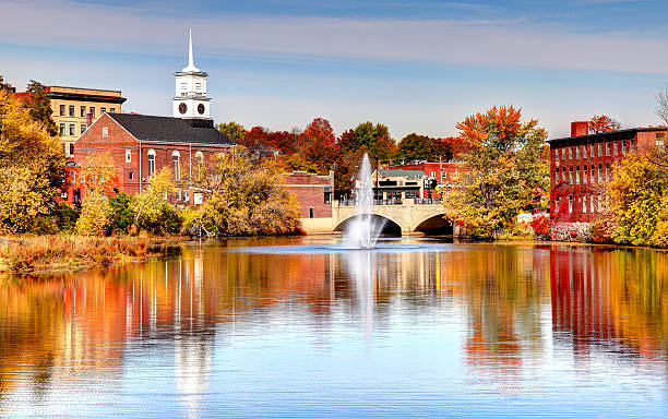 nashua, new hampshire - new hampshire stockfoto's en -beelden
