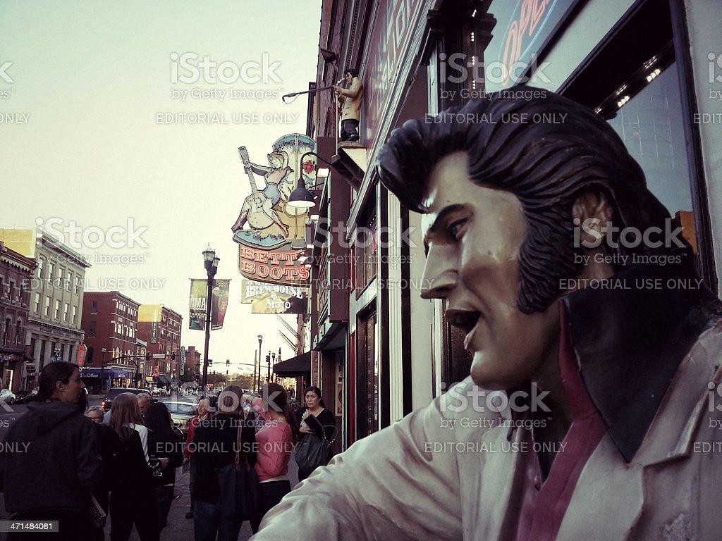 Nashville, Elvis Statue stock photo