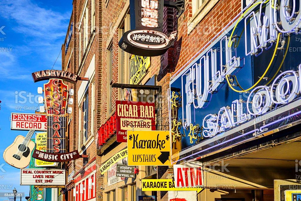 Nashville Honkey Tonk bares - foto de stock