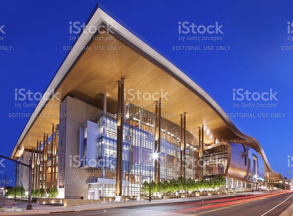 Nashville Music City Center stock photo