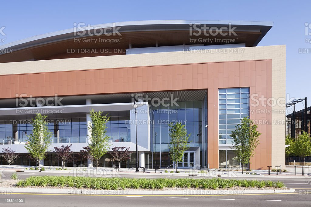 Nashville Music CIty Center royalty-free stock photo