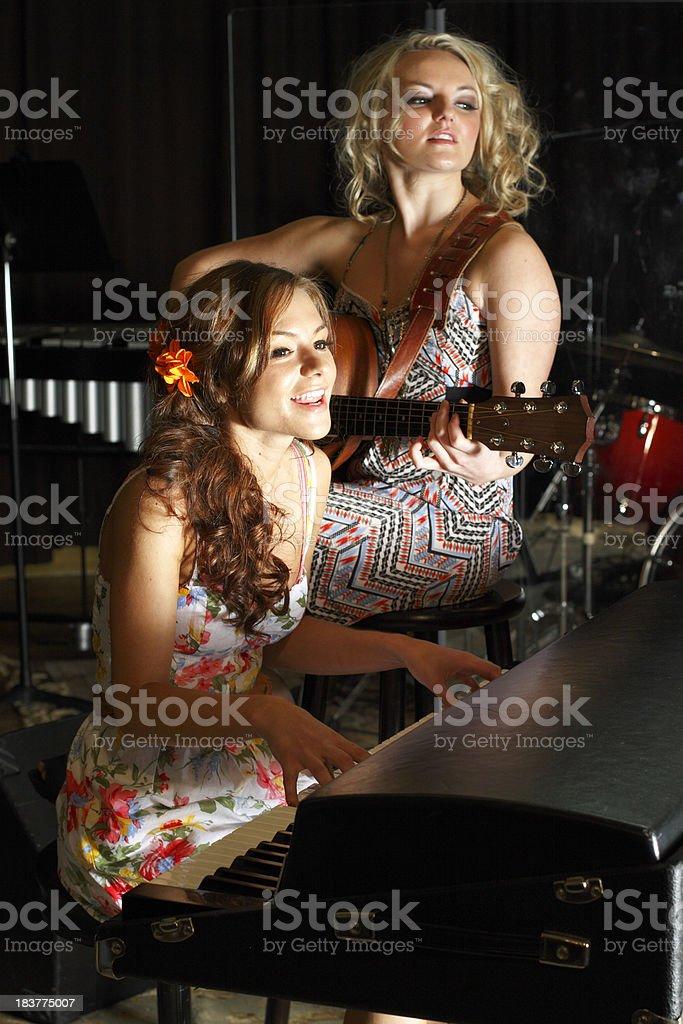 Nashville Nights stock photo