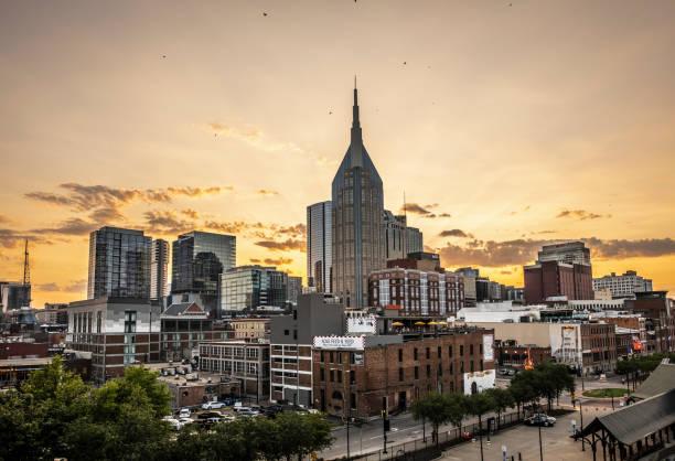 Nashville Skyline stock photo