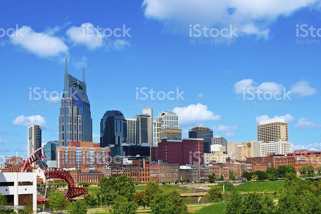 Nashville Skyline royalty-free stock photo