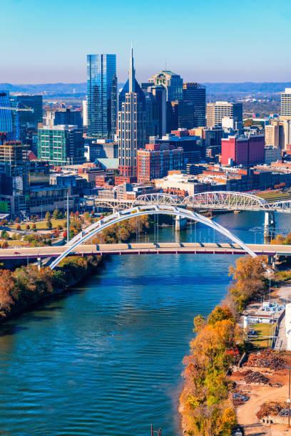 Nashville, Tennesee Skyline stock photo