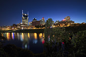 Downtown Nashville, Tennessee, cityscape