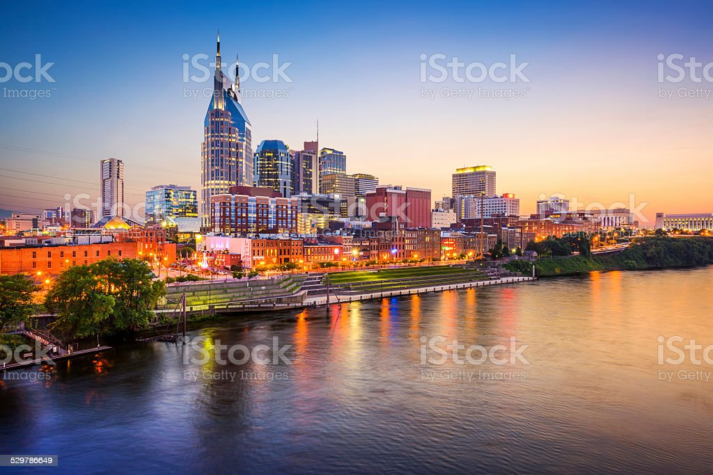Nashville, Tennessee, USA stock photo