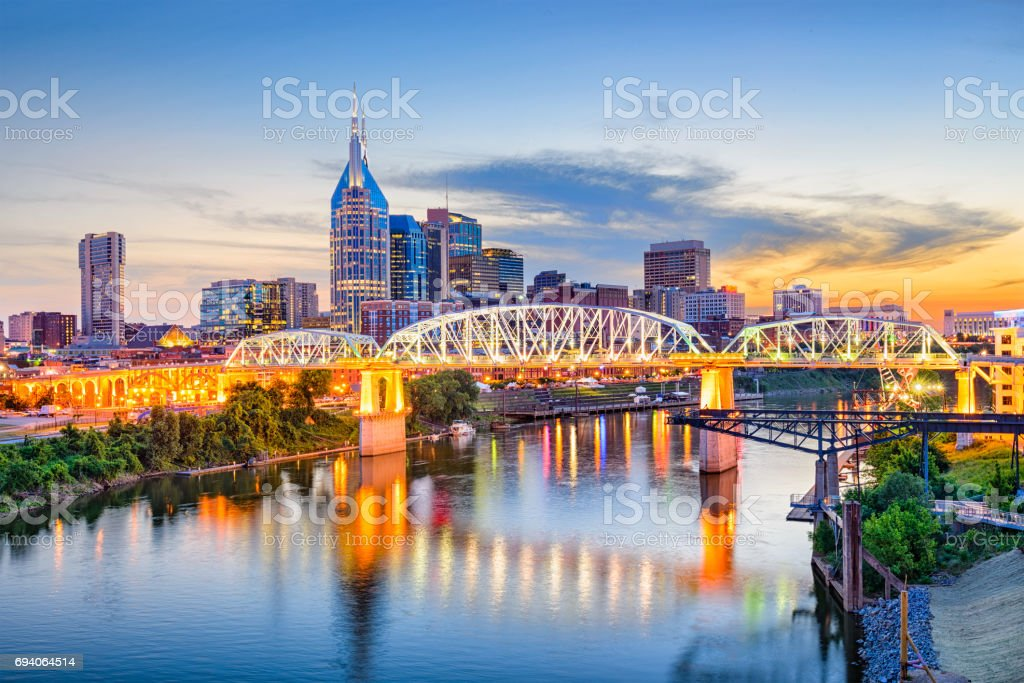 Nashville, Tennessee, USA - Royalty-free Architecture Stock Photo