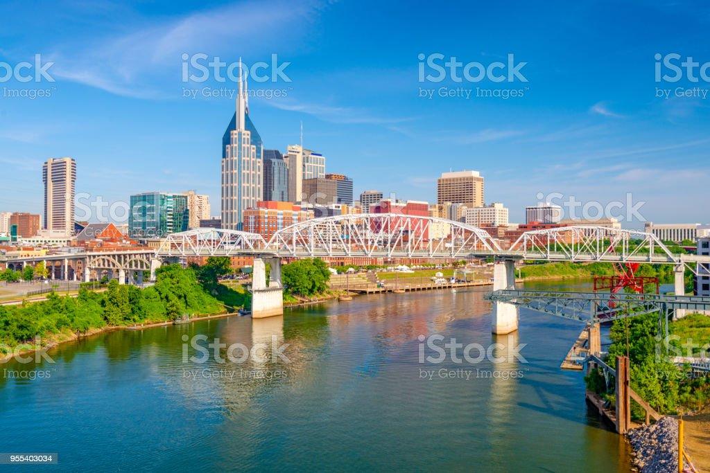 Skyline von Nashville, Tennessee, USA – Foto
