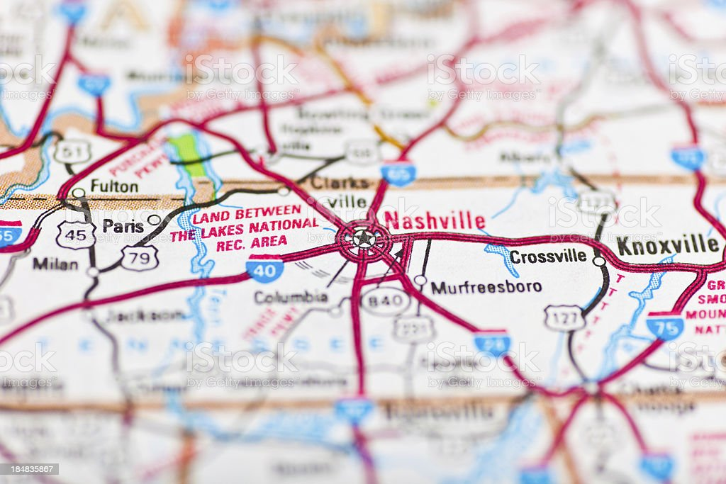 Nashville Tn Map Stock Photo - Download Image Now - iStock on louisville ky map, philadelphia pa map, county map, atlanta ga map, nashville visitors map, nashville fl map, minneapolis mn map, richmond va map, boston ma map, yuma az map, tennessee map, macon ga map, houston tx map, lexington ky map, nashville street map, nashville sightseeing map, grand junction co map, nashville tx map, downtown nashville map, las vegas nv map,
