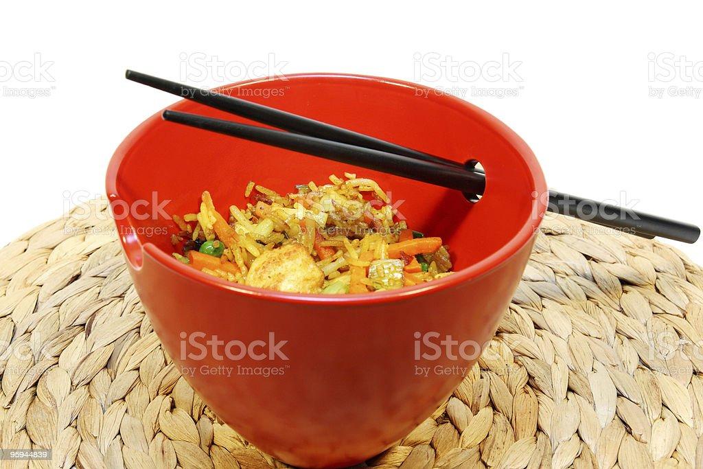 nasi goreng royalty-free stock photo
