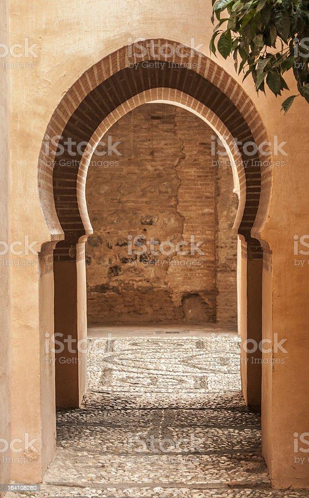Nasrid Palaces, Alhambra 10 stock photo