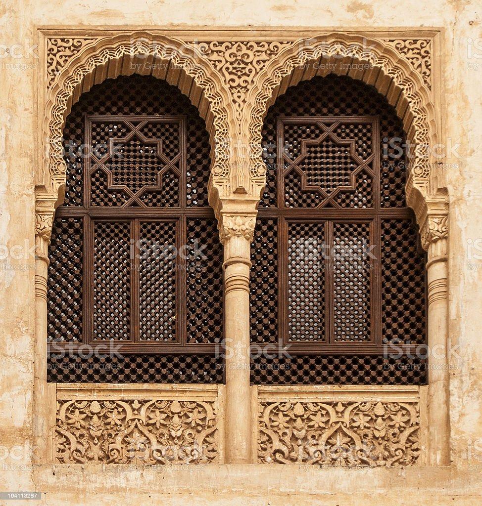 Nasrid Palaces, Alhambra stock photo