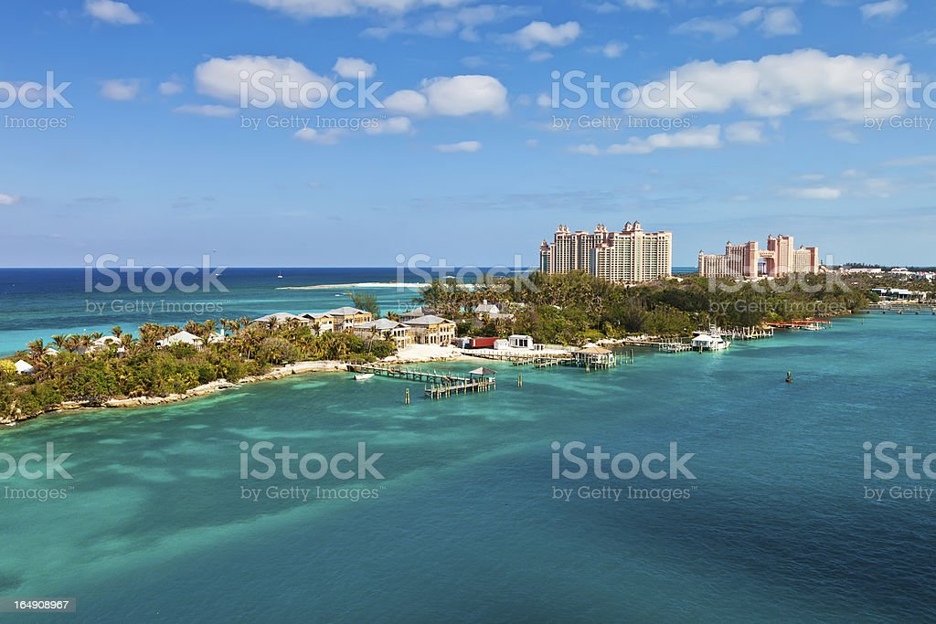 Nassau, Bahamas stock photo