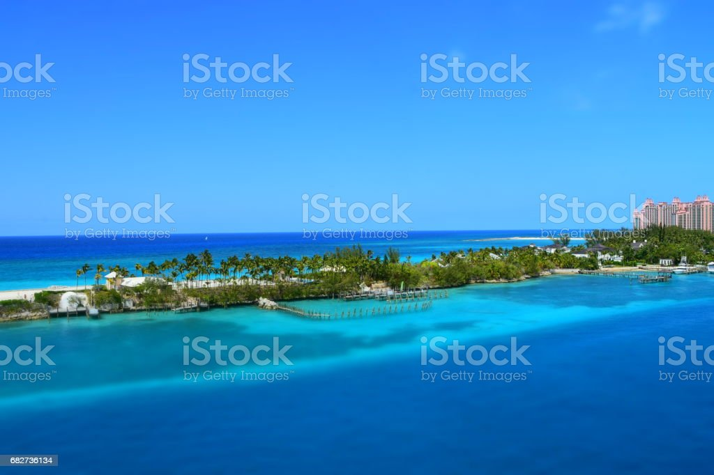 nassau bahamas stock photo