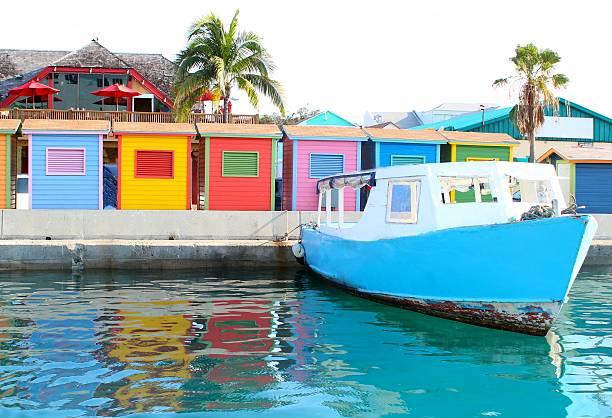 nassau bahamas waterfront - nassau new providence stockfoto's en -beelden