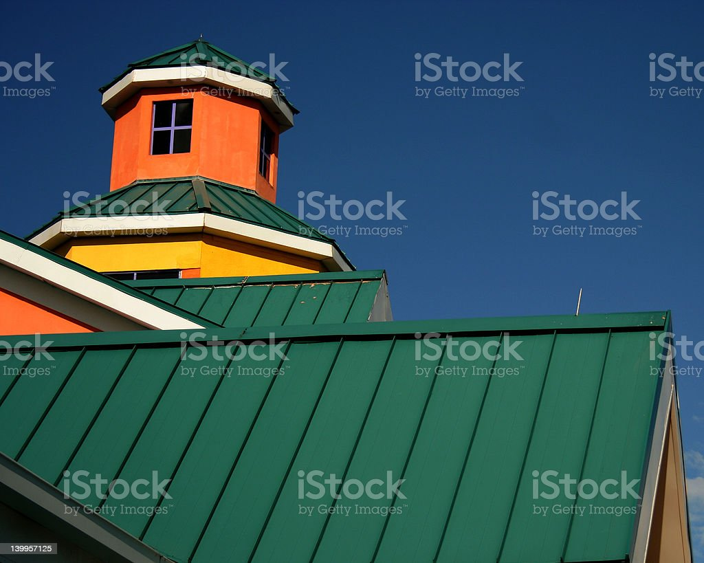 Nassau building royalty-free stock photo