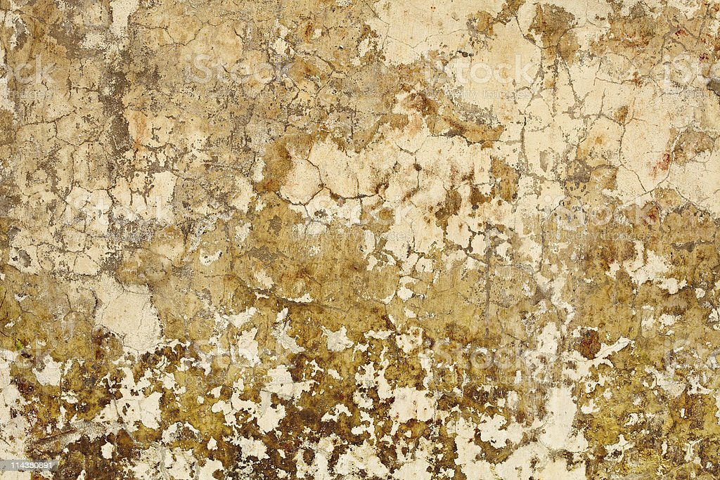 Nasty plaster on wall surface royalty-free stock photo
