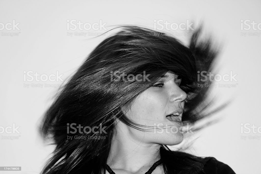 Nat Is A HeadBanger stock photo