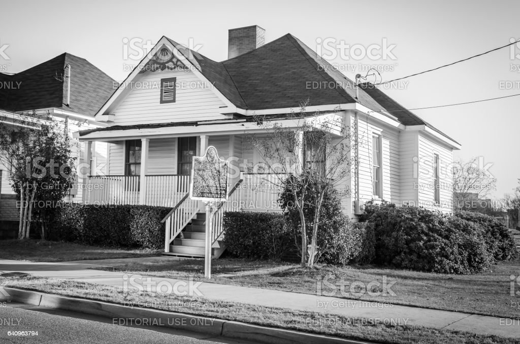 Nat King Cole Childhood Home stock photo