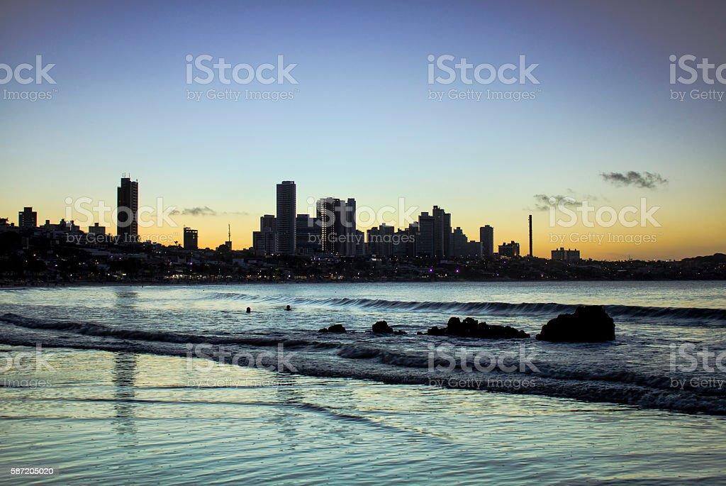 Natal - Ponta Negra stock photo